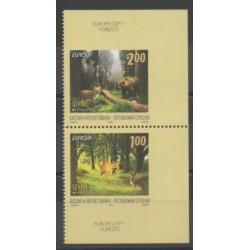 Bosnia and Herzegovina Serbian Republic - 2011 - Nb 488a/489a - Trees - Europa