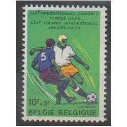 Belgique - 1977 - No 1846 - Football