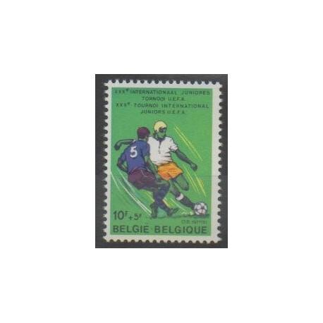 Belgique - 1977 - No 1846 - Football