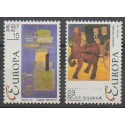 Belgium - 1993 - Nb 2501/2502 - Circus - Europa