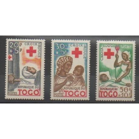 Togo - 1959 - No 292/294 - Santé ou Croix-Rouge