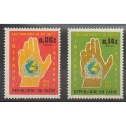 Zaire - 1973 - Nb 835/836