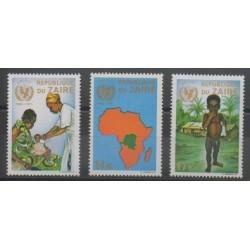 Zaïre - 1971 - No 800/802 - Enfance