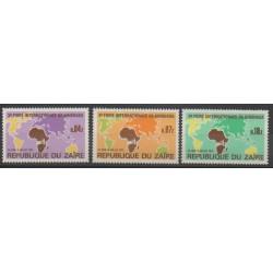Zaire - 1973 - Nb 832/834