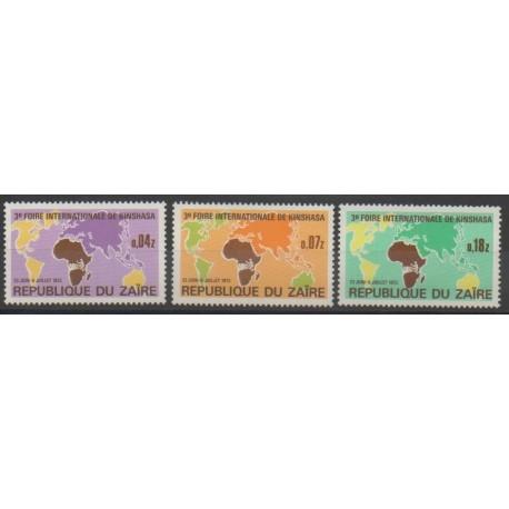 Zaïre - 1973 - No 832/834