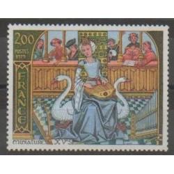 France - Poste - 1979 - No 2033 - Musique