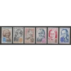 France - Poste - 1979 - No 2029/2032B - Célébrités