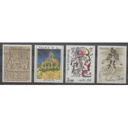 France - Poste - 1979 - No 2053/2054 - 2067/2068 - Peinture