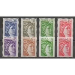 France - Poste - 1979 - No 2056/2063