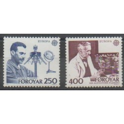 Faroe (Islands) - 1983 - Nb 78/79 - Science - Europa