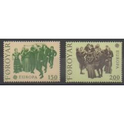 Féroé (Iles) - 1981 - No 57/58 - Europa