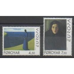 Féroé (Iles) - 1996 - No 294/295 - Célébrités - Europa
