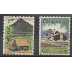 Faroe (Islands) - 1990 - Nb 192/193 - Europa