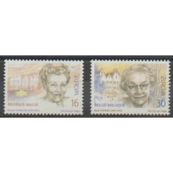 Belgique - 1996 - No 2637/2638 - Célébrités - Europa