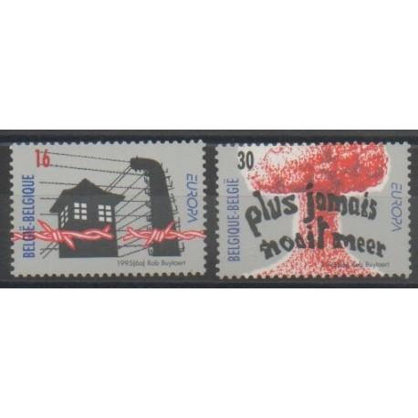 Belgique - 1995 - No 2597/2598 - Europa