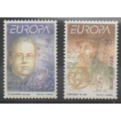 Belgique - 1994 - No 2551/2552 - Sciences et Techniques - Europa