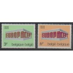Belgium - 1969 - Nb 1489/1490 - Europa