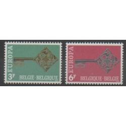 Belgium - 1968 - Nb 1452/1453 - Europa