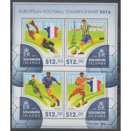 Salomon (Iles) - 2015 - No 2864/2867 - Football