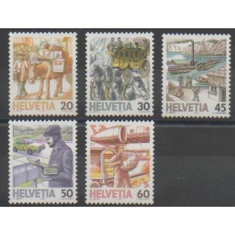 Suisse - 1987 - No 1264/1268