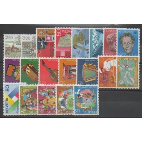 Suisse - Année complète - 1985 - No 1217/1236