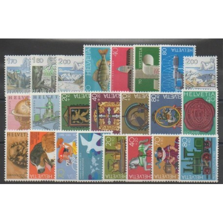 Suisse - Année complète - 1983 - No 1171/1193