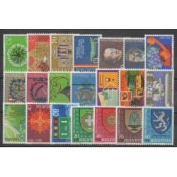 Suisse - Année complète - 1980 - No 1100/1120