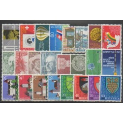Suisse - Année complète - 1979 - No 1076/1099