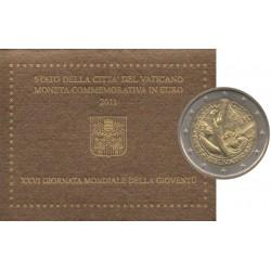 2 euro commémorative - Vatican - 2011 - 26ème J.M.J. Madrid 2011