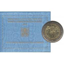 2 euro commémorative - Vatican - 2012 - 7ème Rencontre mondiale des familles
