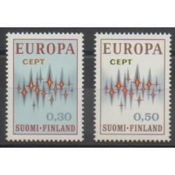 Finlande - 1972 - No 665/666 - Europa
