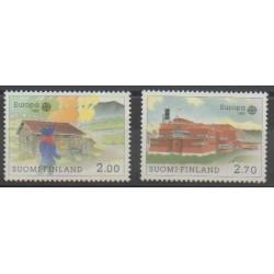 Finland - 1990 - Nb 1074/1075 - Europa