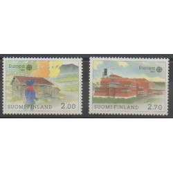 Finlande - 1990 - No 1074/1075 - Europa