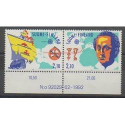 Finlande - 1992 - No 1141/1142 - Christophe Colomb - Europa
