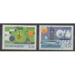 Finlande - 1994 - No 1214/1215 - Télécommunications - Europa