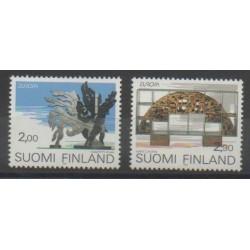 Finlande - 1993 - No 1172/1173 - Art - Europa