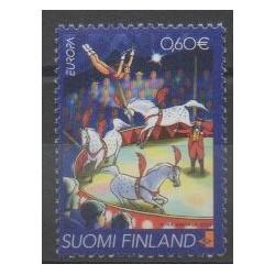 Finlande - 2002 - No 1589 - Cirque - Europa
