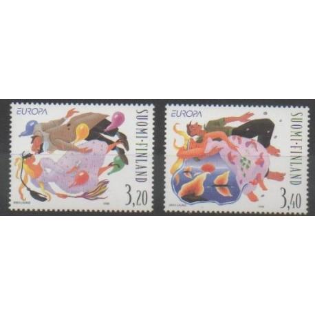 Finlande - 1998 - No 1398/1399 - Europa
