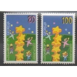 Géorgie - 2000 - No 252/253 - Europa