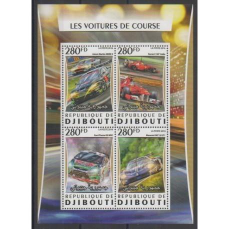 Djibouti - 2016 - No 1051/1054 - Voitures