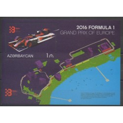 Azerbaïdjan - 2016 - No BF145 - Voitures