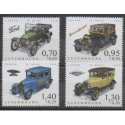 Luxembourg - 2016 - Nb 2053/2056 - Cars