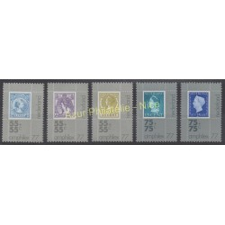 Netherlands - 1976 - Nb 1054/1058 - Stamps on stamps