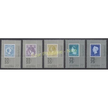 Pays-Bas - 1976 - No 1054/1058 - Timbres sur timbres