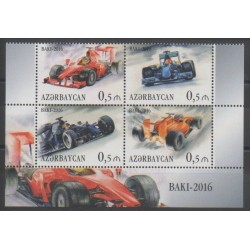 Azerbaïdjan - 2016 - No 933/936 - Voitures