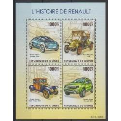 Guinea - 2015 - Nb 7974/7977 - Cars
