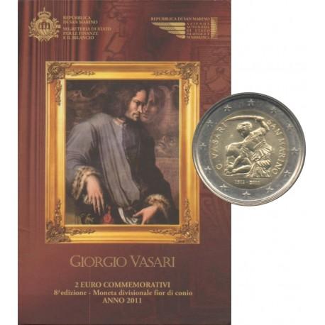 Saint-Marin - 2011 - 50ème anniversaire de la naissance de Giorgio Vasari