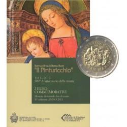Saint-Marin - 2013 - Coffret : 500e anniversaire de la mort de Malers Pinturicchio