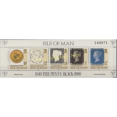 Man (Ile de) - 1990 - No BF 12 - Timbres sur timbres