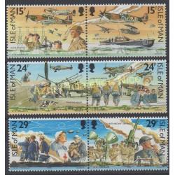 Man (Ile de) - 1990 - No 467/472 - Seconde Guerre mondiale